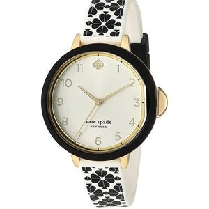 Kate Spade Stainless Steel & Silicone Quartz Watch